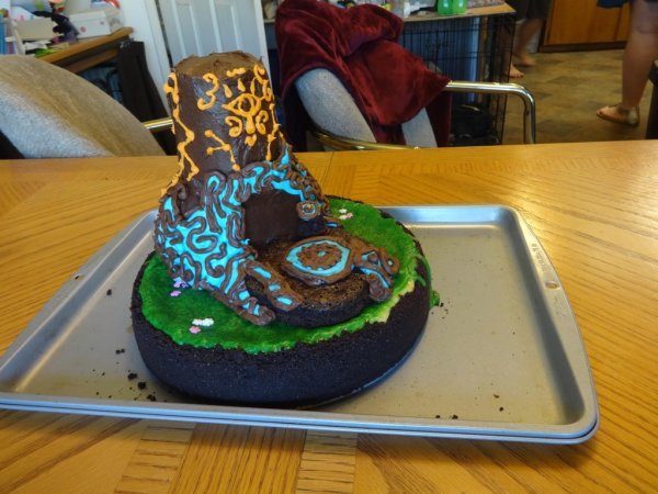 Breath Of The Wild Cake Recipe  GAME ON 39 s theCHIVE