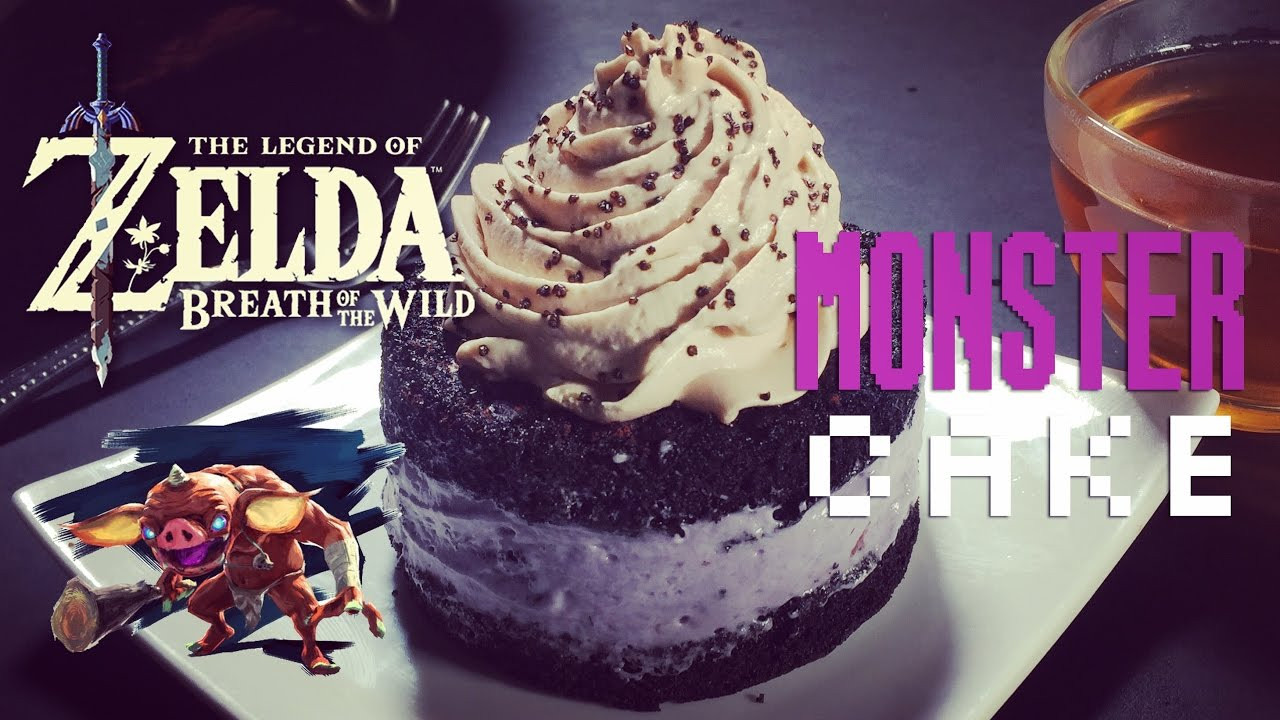 Breath Of The Wild Cake Recipe  How to Make Monster Cake from Zelda Breath of the Wild