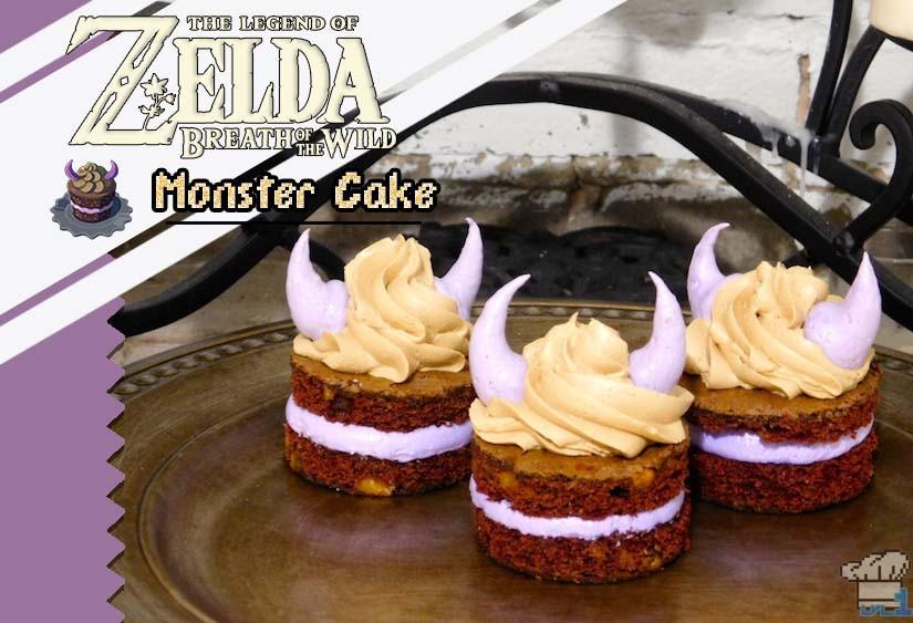 Breath Of The Wild Cake Recipe  Legend of Zelda Breath of the Wild Monster Cake Lvl 1