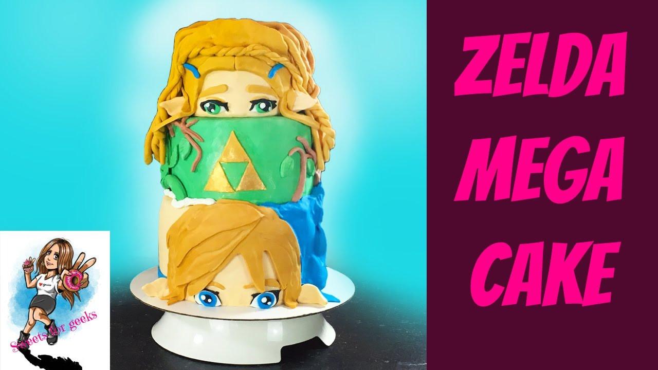 Breath Of The Wild Cake Recipe  ZELDA BREATH OF THE WILD MEGA CAKE KUCHEN NINTENDO