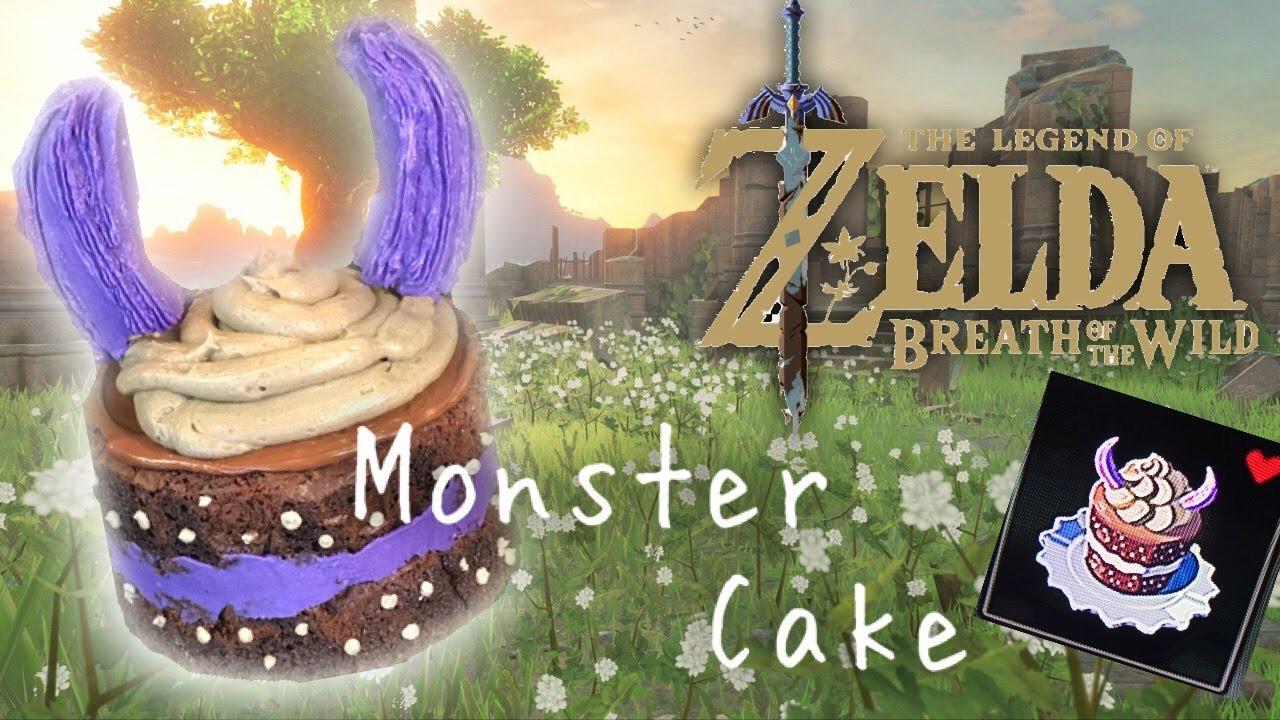 Breath Of The Wild Cake Recipe  Epic Monster Cake Zelda Breath of the Wild