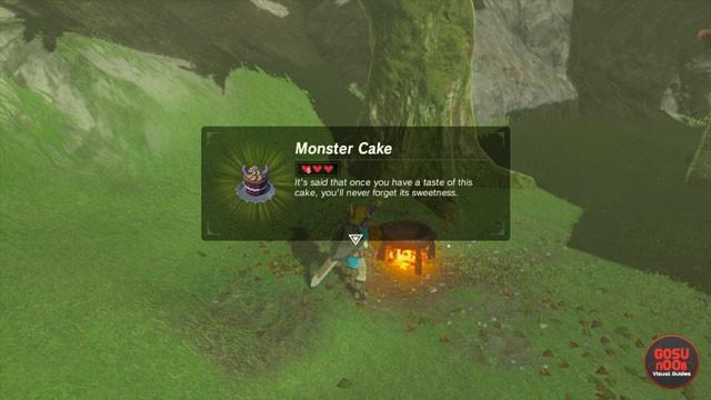 Breath Of The Wild Cake Recipe  Zelda BoTW Royal Recipe Side Quest Hyrule Castle