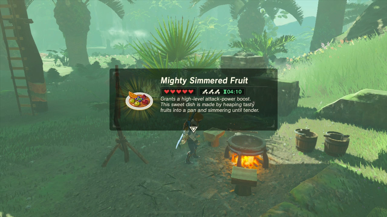 Breath Of The Wild Fruitcake  Ultimate Cooking Guide for the Legend Zelda Breath