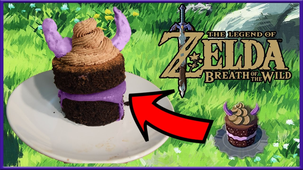 Breath Of The Wild Fruitcake  Cuccos Kitchen How To Make Monster Cake