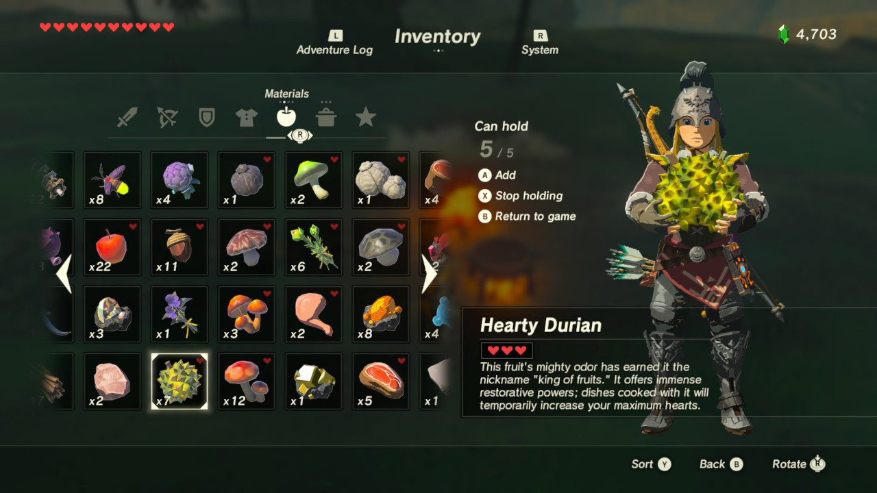 Breath Of The Wild Fruitcake  The only recipe you need to conquer the delightfully tough