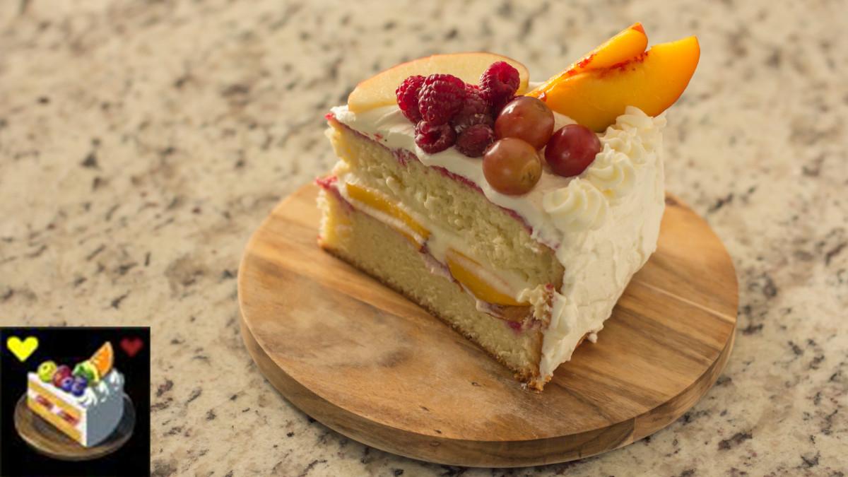 Breath Of The Wild Fruitcake  Fruitcake – Sheikah Plate