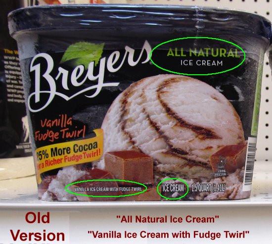 """Breyers Frozen Dairy Dessert  Breyers Converts Ice Creams to """"Frozen Dairy Desserts"""""""