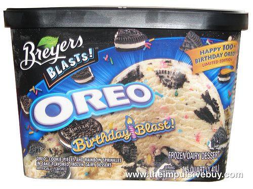 Breyers Frozen Dairy Dessert  17 Best images about Breyers Blasts on Pinterest