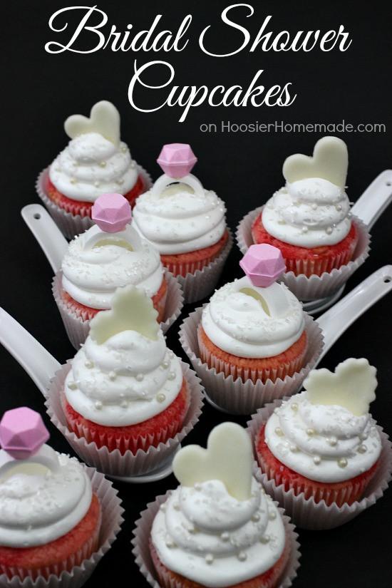 Bridal Shower Cupcakes  Bridal Shower Cupcakes Hoosier Homemade