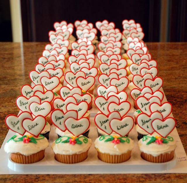 Bridal Shower Cupcakes  Wedding Shower Cupcake Ideas Wedding and Bridal Inspiration