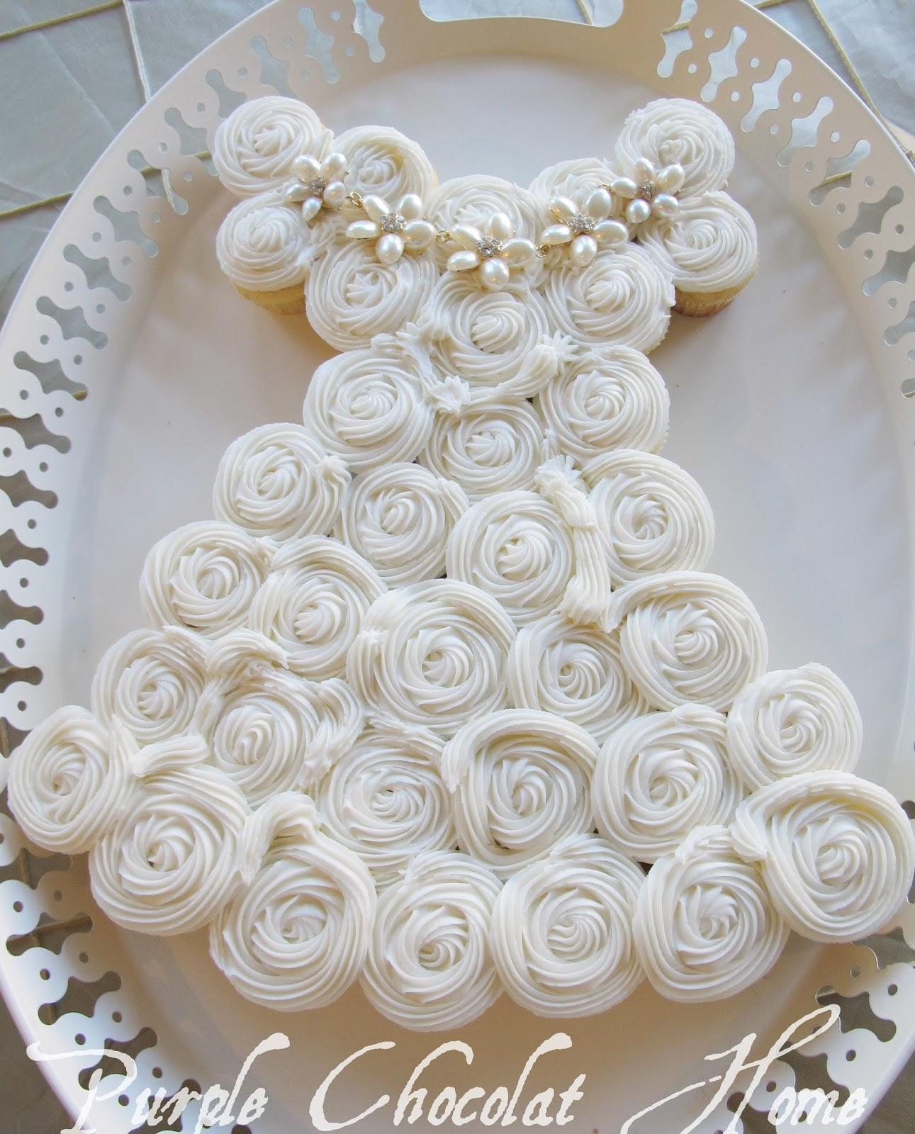 Bridal Shower Cupcakes  Perfect Bridal Shower Cake Purple Chocolat Home