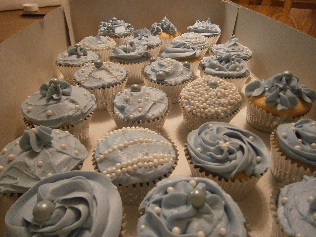 Bridal Shower Cupcakes  Bridal Shower Cupcakes by Merwenna on DeviantArt