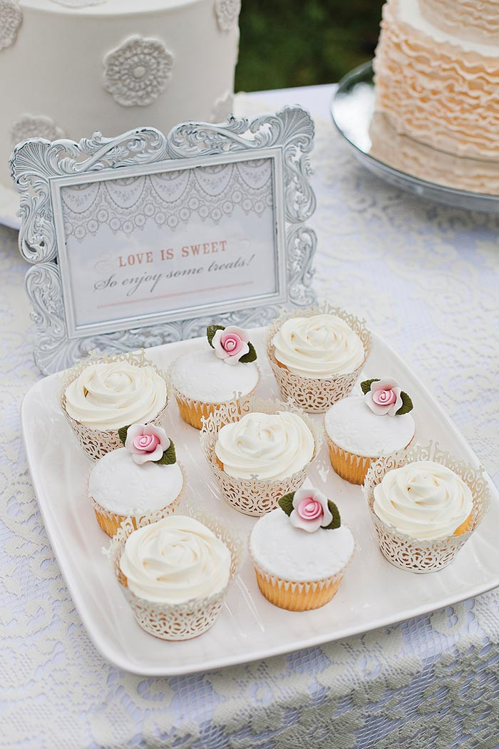 Bridal Shower Cupcakes  Bridal Shower styling ideas Modern Wedding