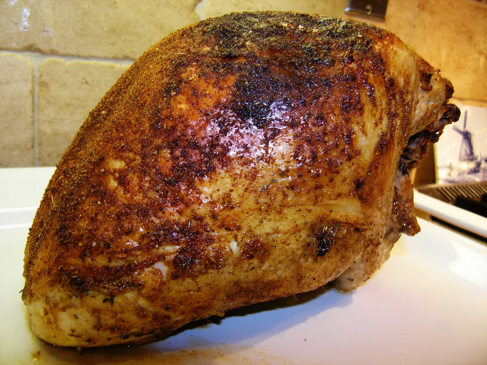 Brine A Turkey Breast  Brined Roast Turkey Breast Recipe — Dishmaps