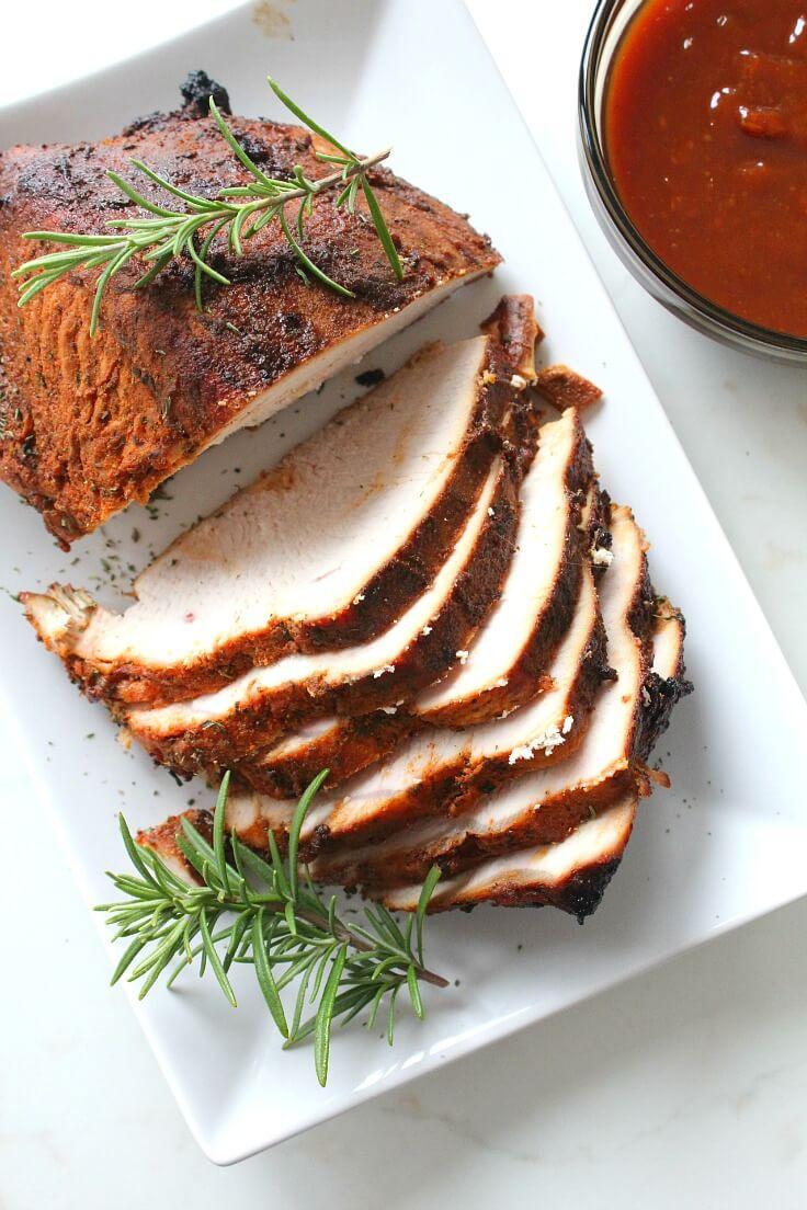 Brine A Turkey Breast  Brined Roasted Turkey Breast Recipe