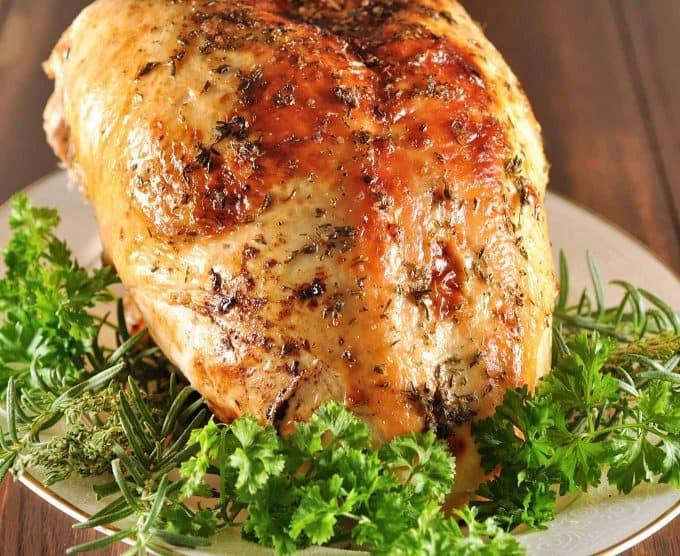 Brine A Turkey Breast  Apple Cider Brined Turkey Breast Recipe