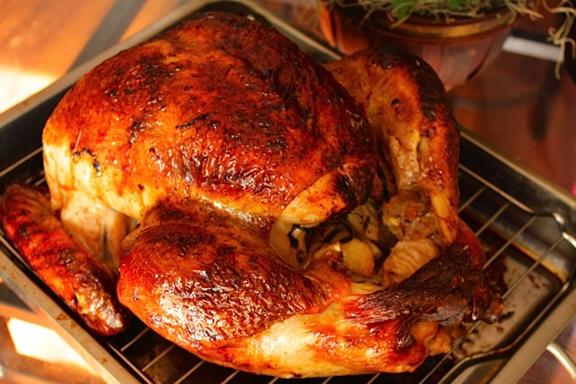"""Brine Recipe For Turkey  My """"I Challenge ALL Claims to the Ultimate Brine"""" Turkey"""