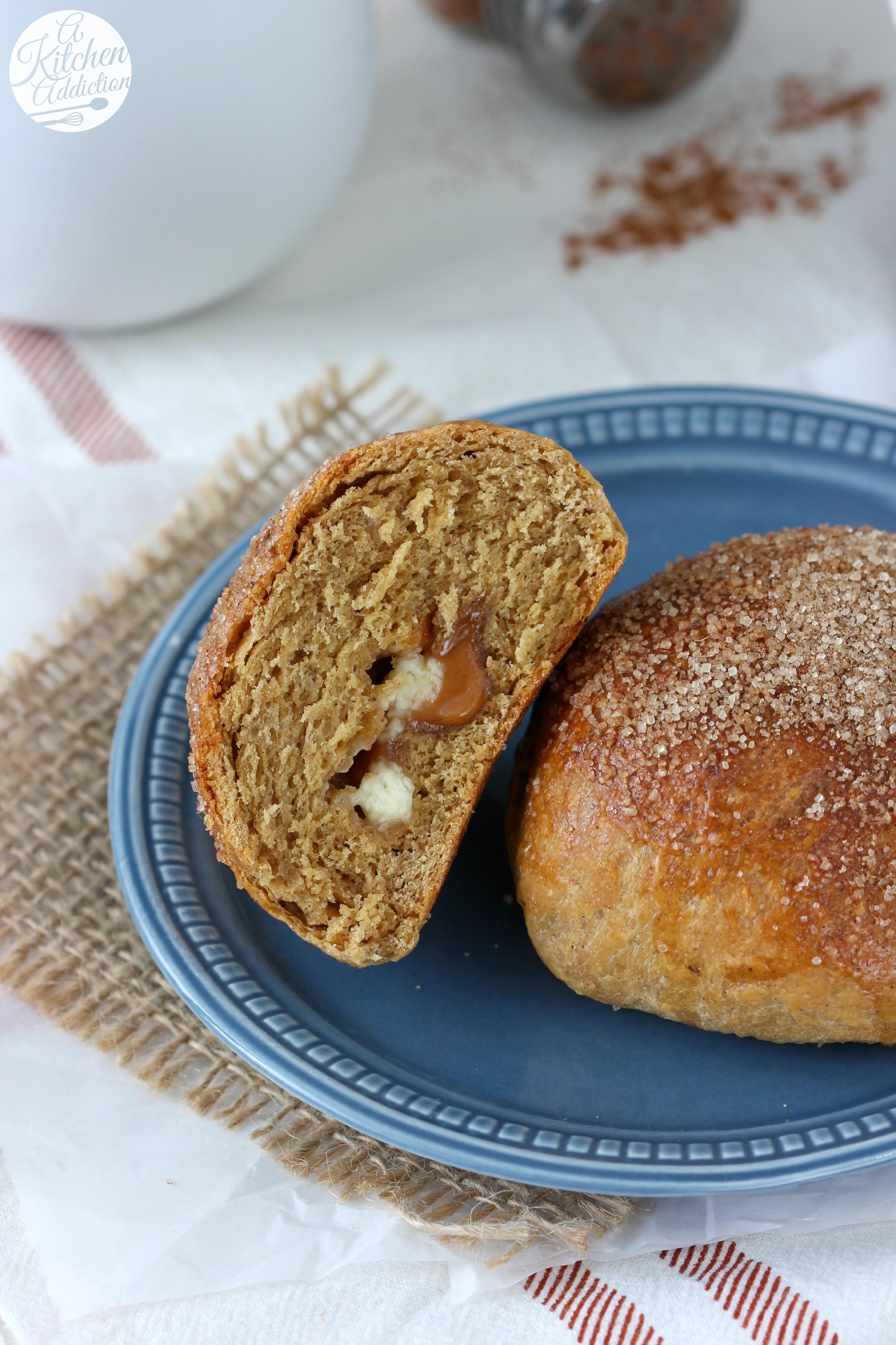 Brioche Bread Recipe  White Chocolate Caramel Gingerbread Brioche Rolls A