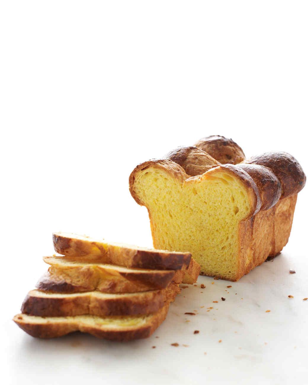 Brioche Bread Recipe  Brioche Loaves Recipe