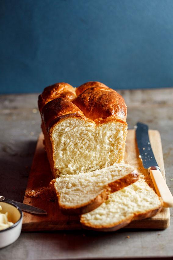 Brioche Bread Recipe  Brioche loaf Simply Delicious
