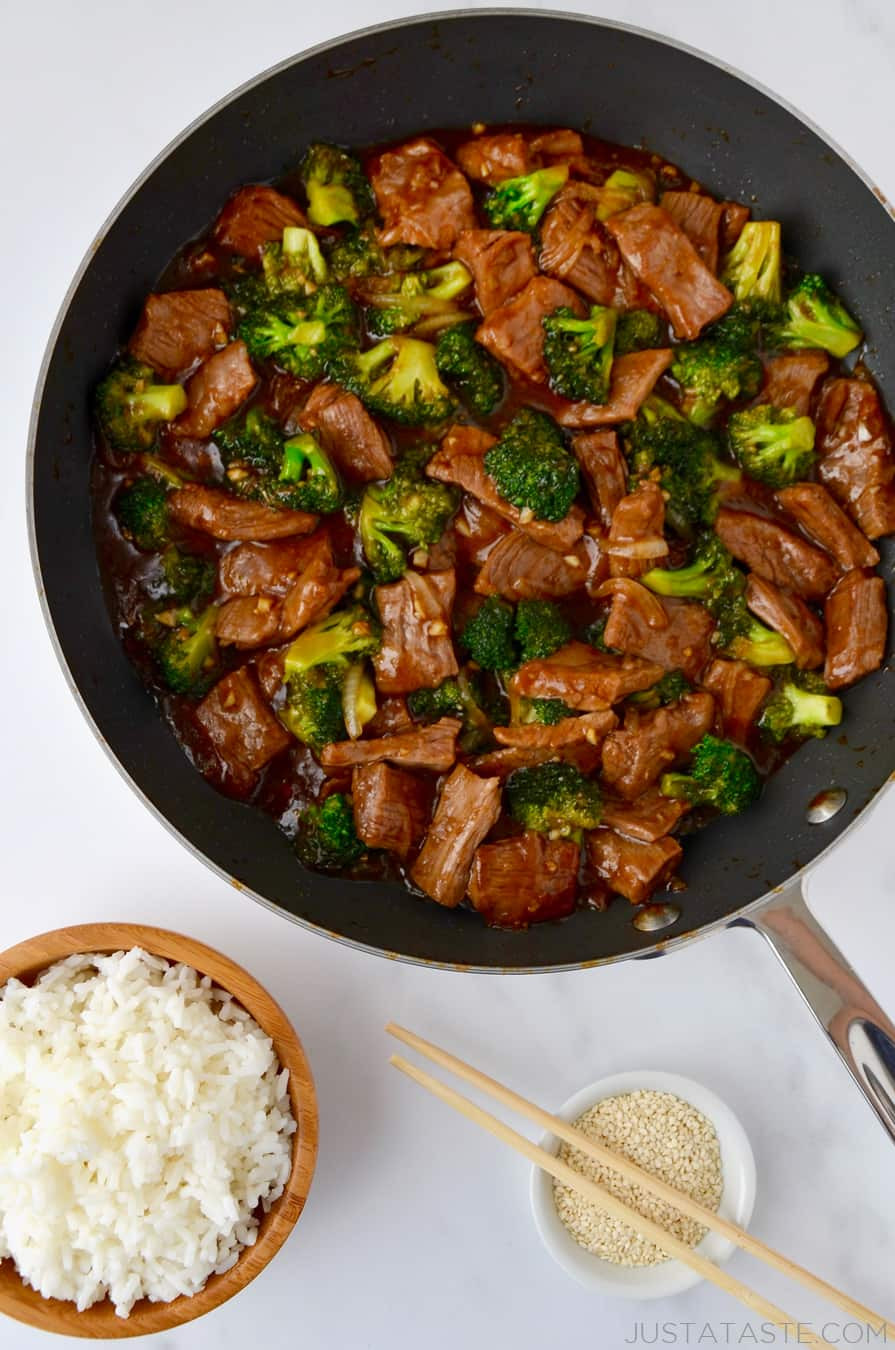 Broccoli And Beef Recipe  Easy Beef and Broccoli