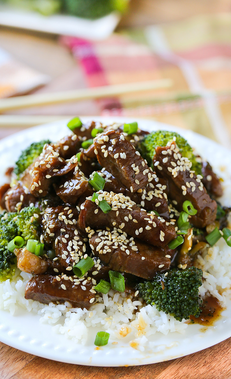 Broccoli And Beef Recipe  Beef and Broccoli Swanky Recipes