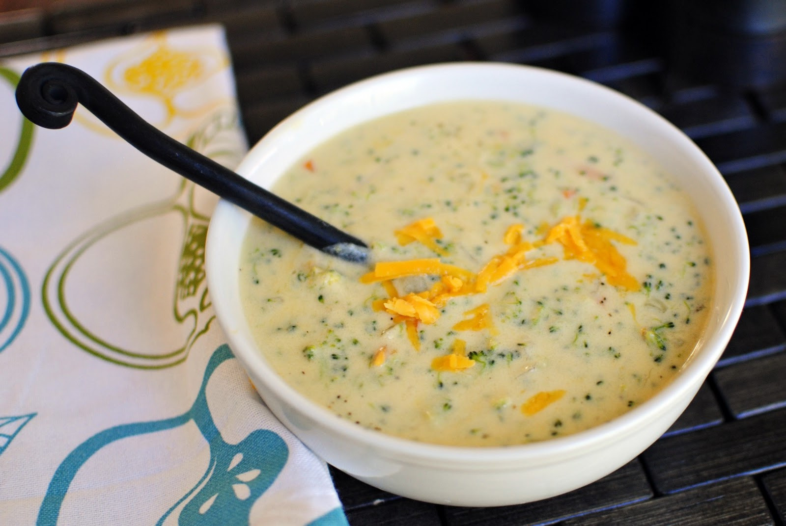 Broccoli And Cheddar Soup  Simply Scratch Simple Broccoli and Cheddar Soup with Warm