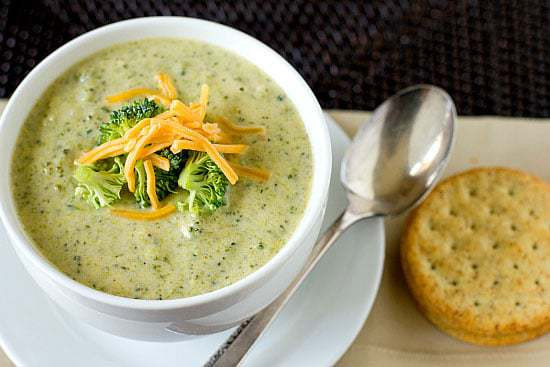 Broccoli And Cheddar Soup  Easy Broccoli Cheese Soup Recipe