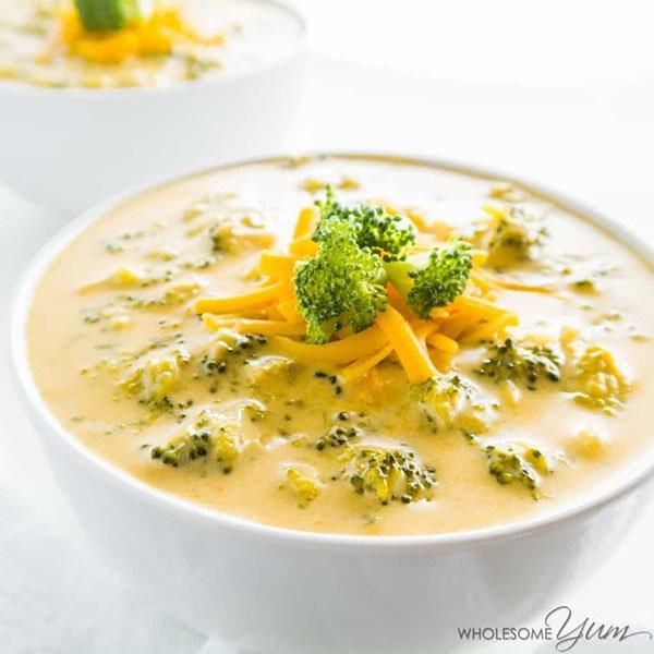 Broccoli And Cheddar Soup  12 Keto Soup Recipes & Ideas