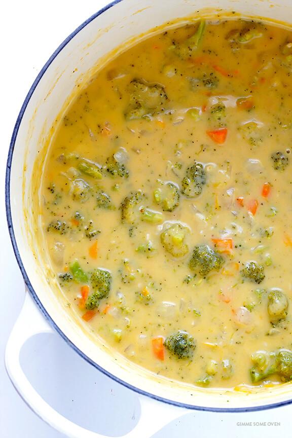 Broccoli And Cheddar Soup  Broccoli Cheese Soup