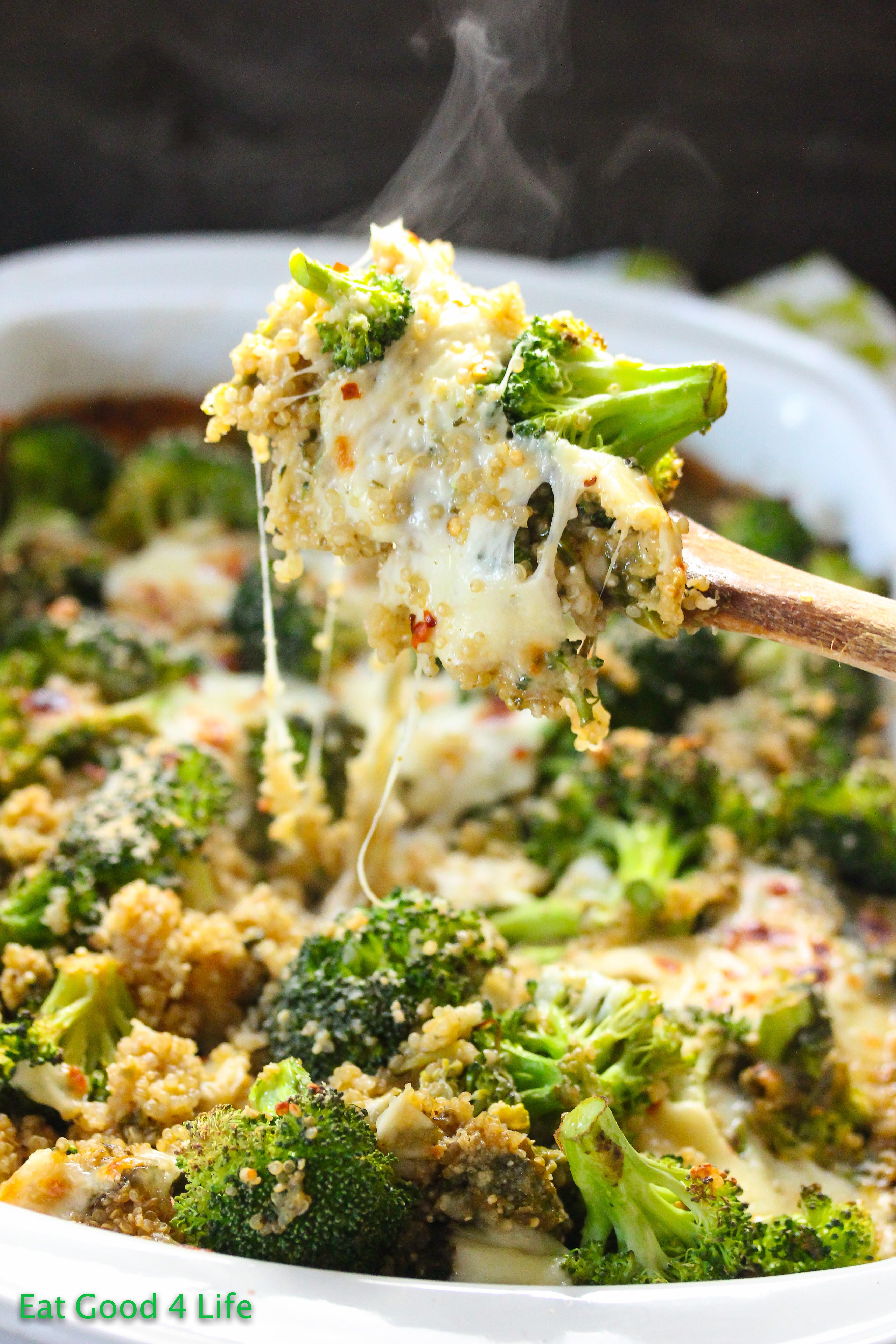 Broccoli Casserole Recipes  Broccoli quinoa casserole