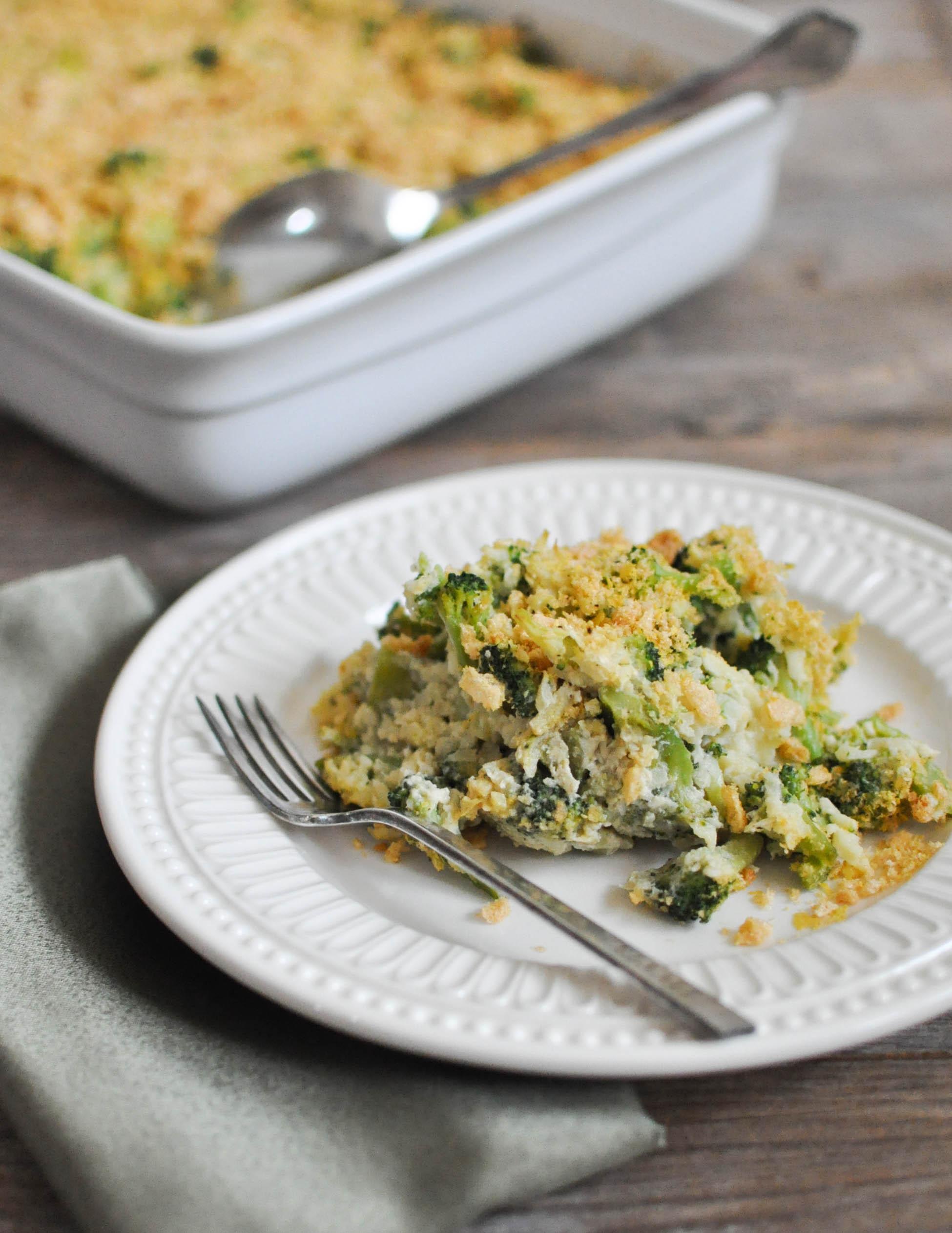 Broccoli Casserole Recipes  Paleo Cheesy Broccoli Casserole Fed & Fit