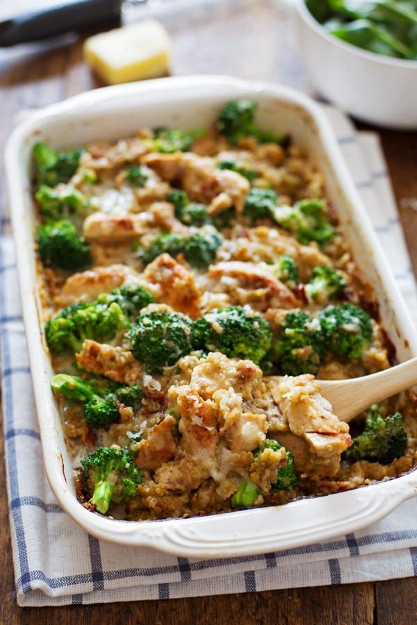 Broccoli Casserole Recipes  Creamy Chicken Quinoa and Broccoli Casserole Recipe