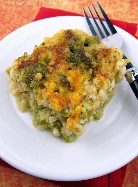 Broccoli Cheese Rice  Broccoli Cheese Rice Casserole
