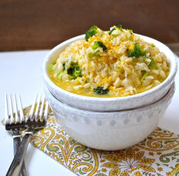 Broccoli Cheese Rice  Creamy Broccoli Cheddar Rice Maebells