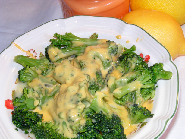 Broccoli Cheese Sauce  Broccoli With Cheese Sauce Recipe Food