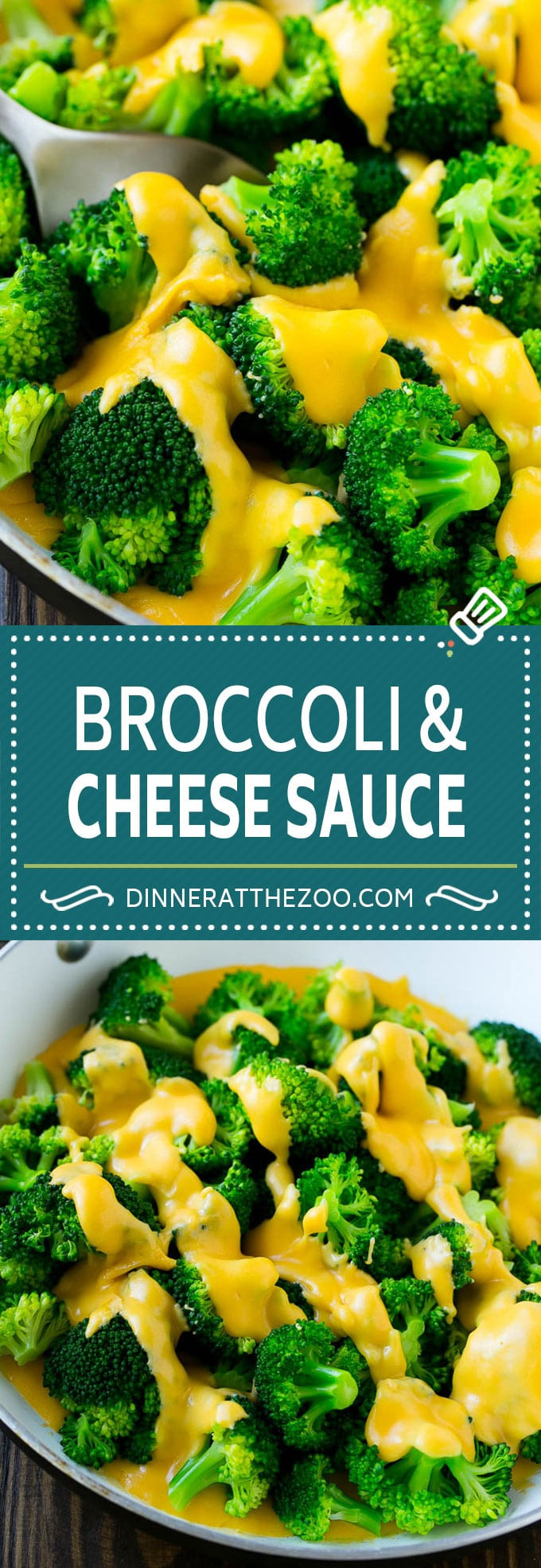 Broccoli Cheese Sauce  Broccoli with Cheese Sauce Dinner at the Zoo