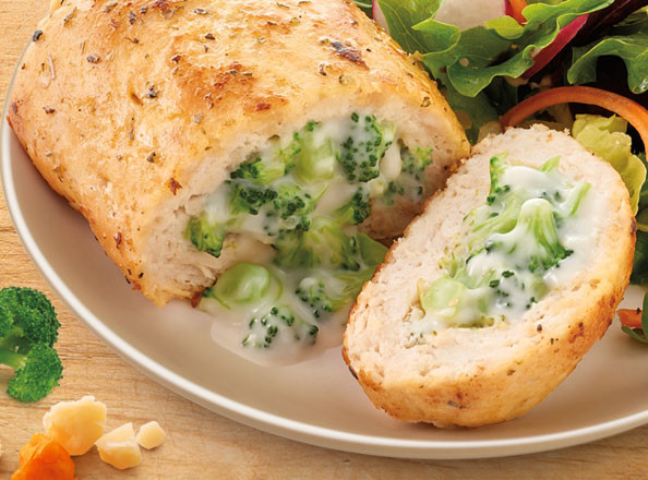 Broccoli Stuffed Chicken  15 Best Dinners From Nutrisystem The Leaf