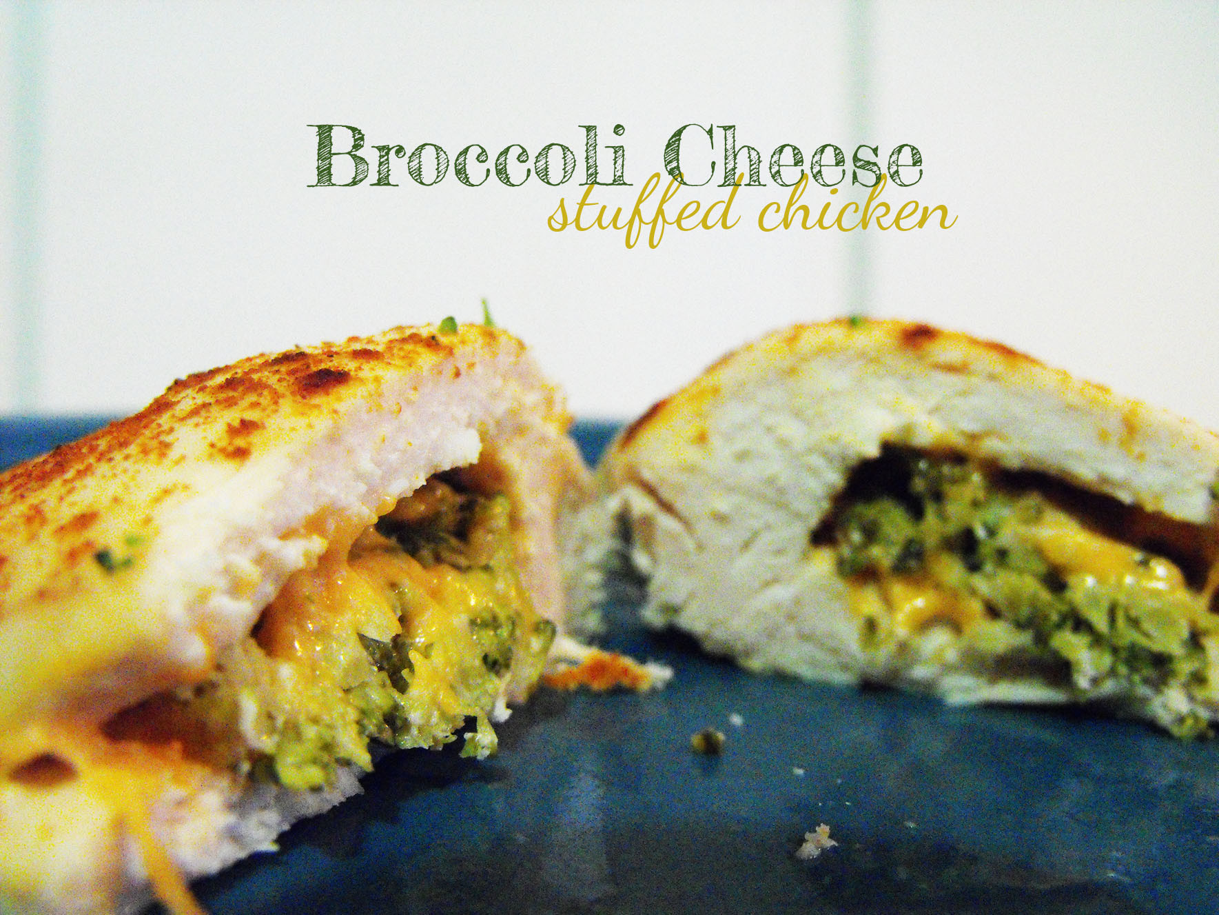 Broccoli Stuffed Chicken  Broccoli Cheese Stuffed Chicken Saving the Family Money