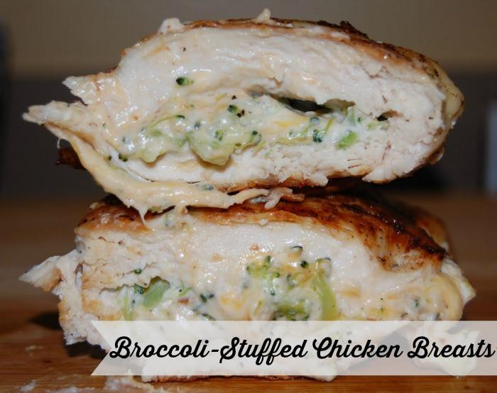 Broccoli Stuffed Chicken  broccoli stuffed chicken breast