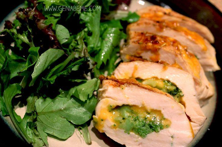 Broccoli Stuffed Chicken  Broccoli And Cheese Stuffed Chicken Recipes — Dishmaps