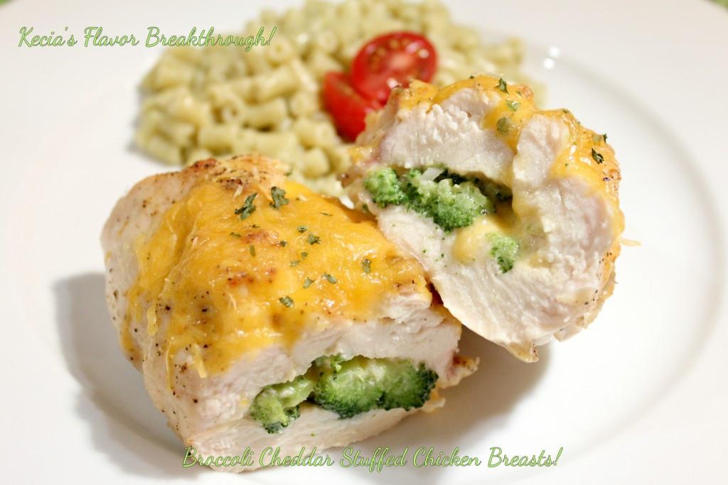 Broccoli Stuffed Chicken  Broccoli Cheddar Stuffed Chicken Breasts