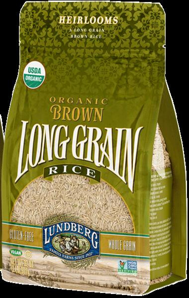 Brown Rice Brands  Long Grain Brown Rice Organic – Something Better Natural Foods