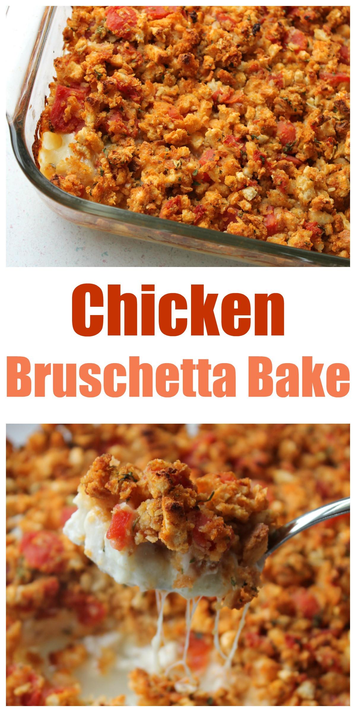 Bruschetta Chicken Bake  Bruschetta Chicken Bake Recipe — Dishmaps