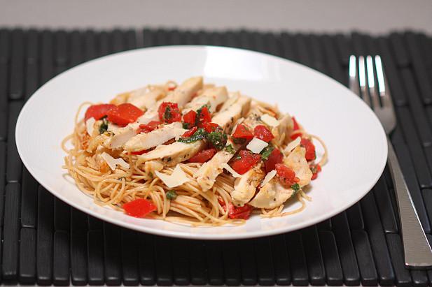 Bruschetta Chicken Pasta  Friday Favorites Bruschetta Chicken Pasta