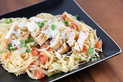 Bruschetta Chicken Pasta  TGI Friday s Bruschetta Chicken Pasta Recipe