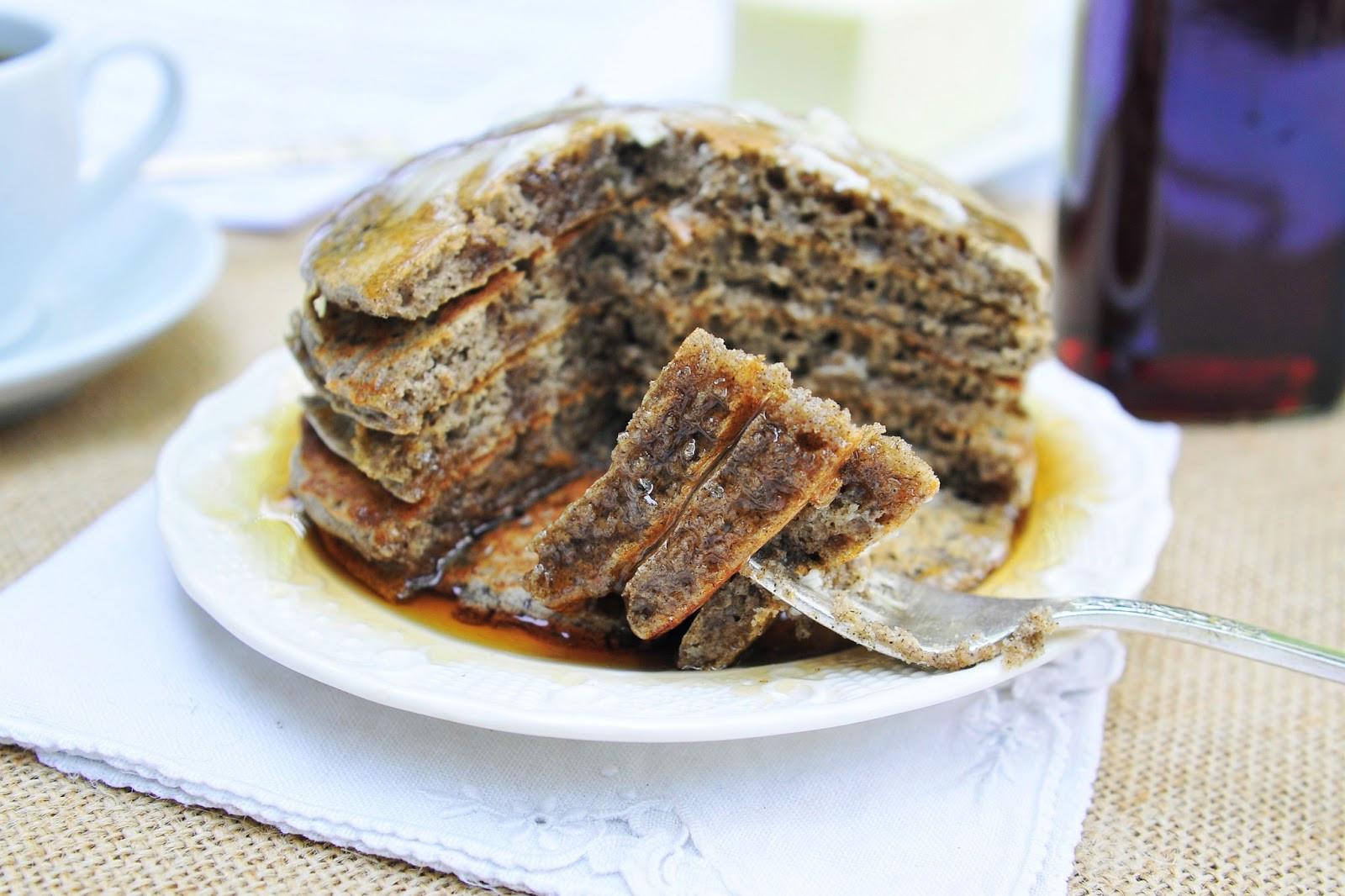 Buckwheat Pancakes Recipe  Simply Gourmet Music Coffee and Buckwheat Pancakes A