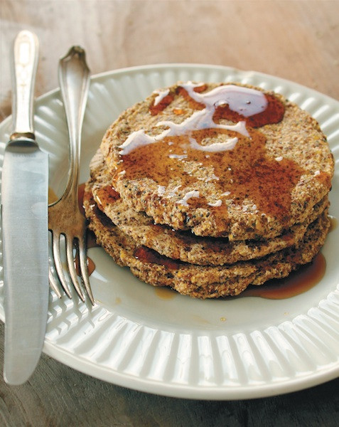 Buckwheat Pancakes Recipe  Lemon Poppyseed Buckwheat Pancakes