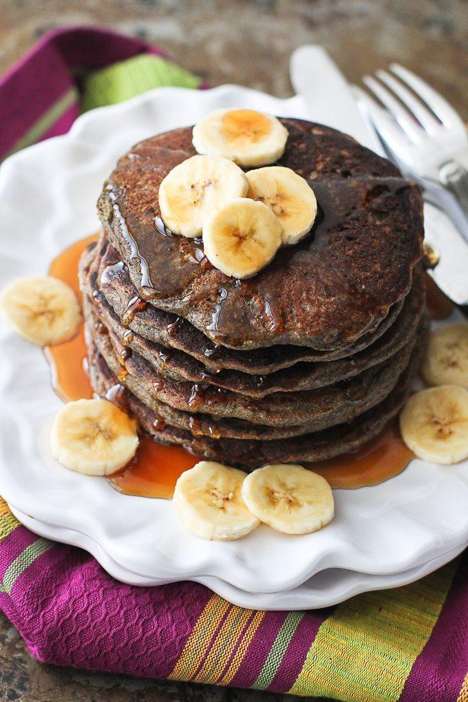 Buckwheat Pancakes Recipe  Buckwheat Blender Pancakes Recipe Cookin Canuck