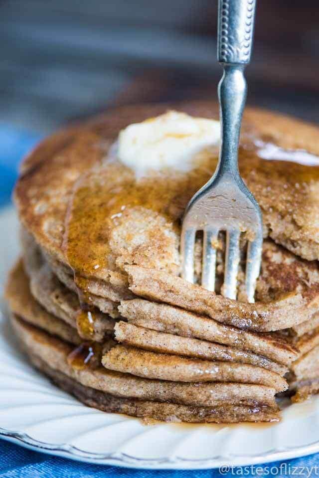 Buckwheat Pancakes Recipe  Buckwheat Pancakes Fluffy pancakes recipe with a rich